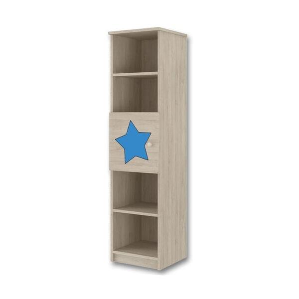 regal dzieciecy gwiazdka niebieska