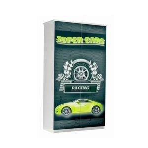 szafa super cars zielona