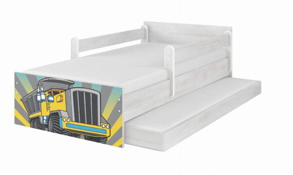 Łóżko z wysuwaną szufladą