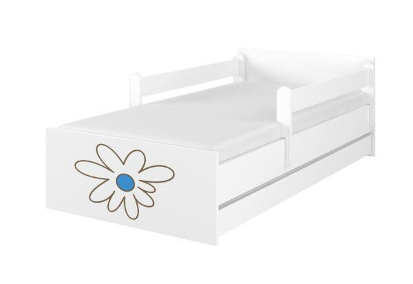 lozko kwiatek niebieski