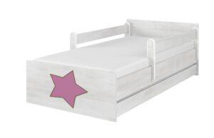 lozko sn gwiazdka rozowy