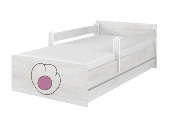 lozko sn kot rozowy