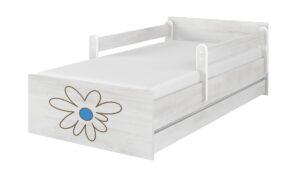 lozko sn kwiatek niebieski