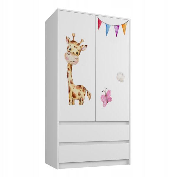 Szafa dziecięca Żyrafa
