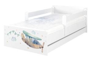 Łóżko dla dzieci MAX Samoloty