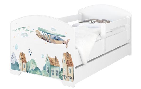 Łóżko dla dzieci Oskar Samoloty