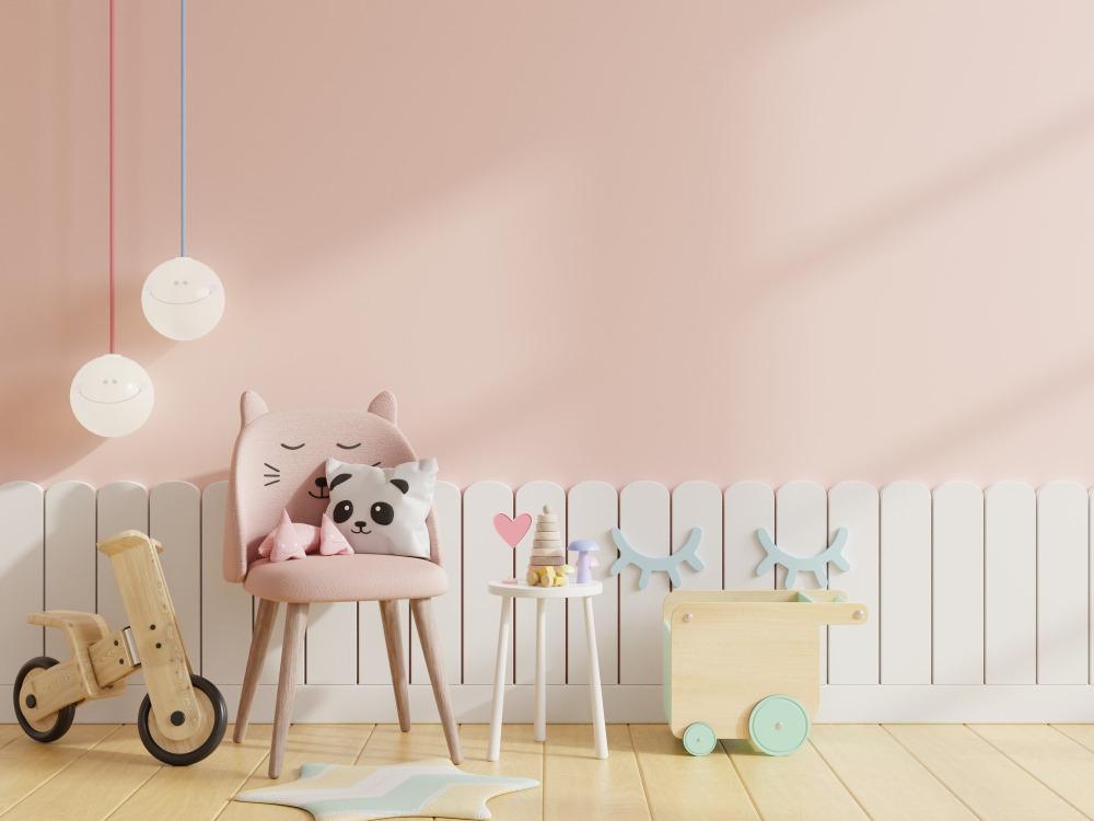 Kolory w pokoju dziecięcym